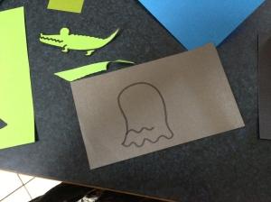 Halloween inspired ghost.