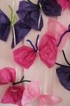 Quick Toddler Craft – Tissue Paper ButterflyMobile
