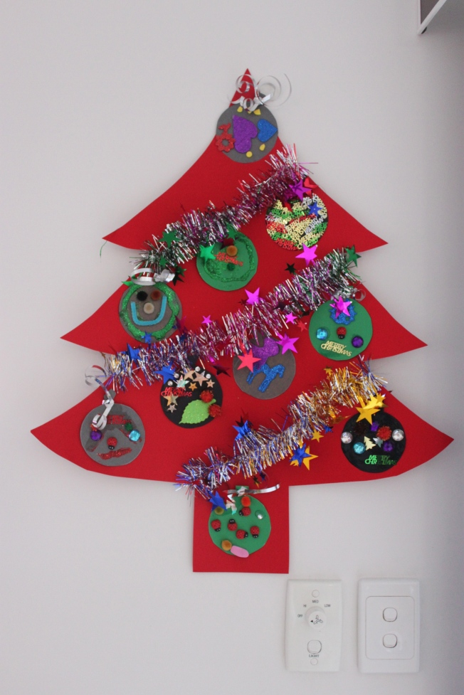 Kids craft Christmas Tree