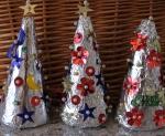 Easy Christmas Craft –  Mini ChristmasTrees