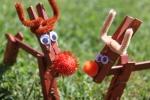 Easy Toddler Craft, ChristmasReindeer