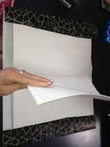 Covering with paper