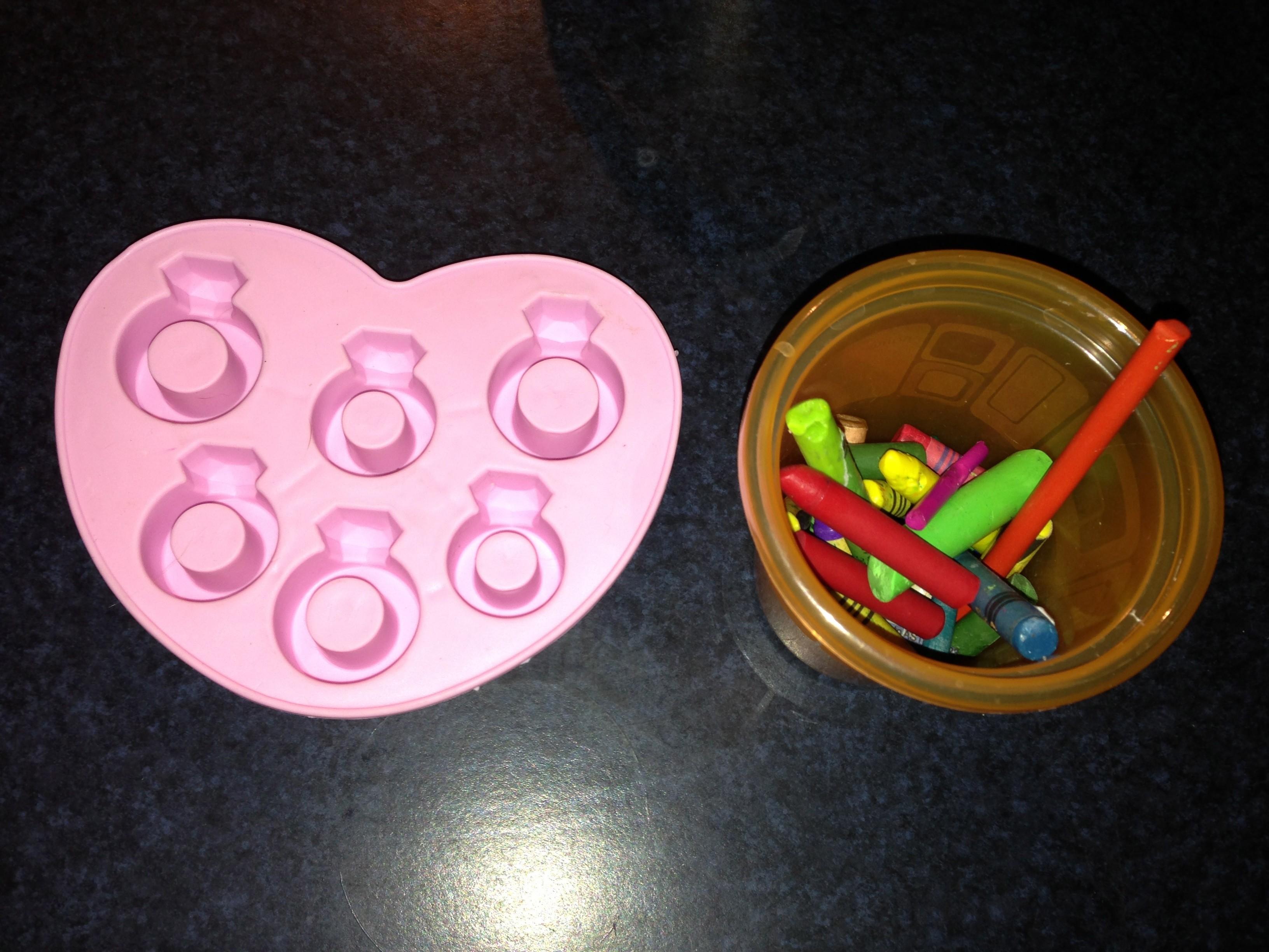 Crayon Rings Valentine Crayon Rings Stayathomelife