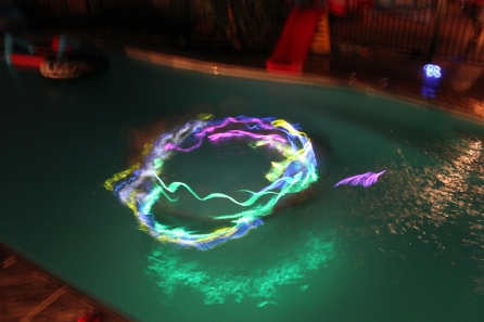 Ring a rosie glow stick style