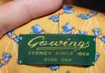 Label Silk Tie