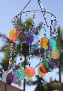 Diy Sun Catcher Wind Chime Stay At Home Life