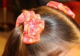 Hair scrunchies.