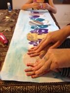 Mr 2's hand prints