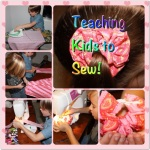 Teaching Kids To Sew – Make a Hair Scrunchie!
