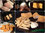 Kids in the Kitchen, Home Made Fish andChips.