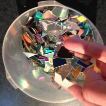 Munched up CDs!