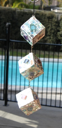 Sun catcher / Disco Cube!