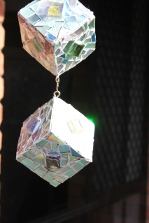 Recycled DVD / CD Sun catcher