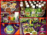Mexican Fiesta Kids Birthday Party.