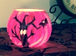 Spooky Tea-Light Holder, Quick Halloween Craft