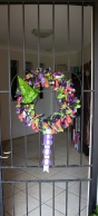 The finished wreath