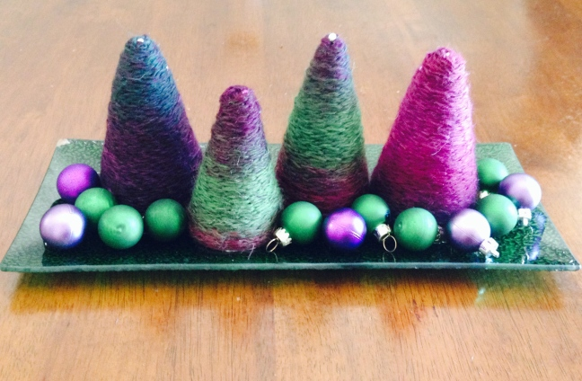 Christmas Table Centrepiece.