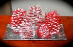 Pine Cone Christmas Tree Decorations