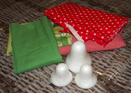 Christmas themed fabric in your desired colours
