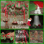 DIY Christmas Bell Mobile