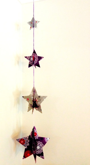 3D Star Ornament.