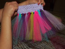 Repeat until you have a mini Tutu