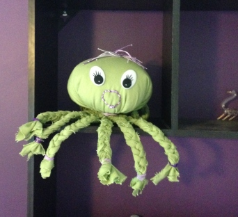 Octopus softie.