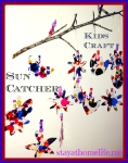 Easy Sun Catcher, Kids Craft