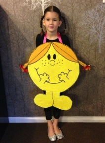 Little Miss Sunshine costume.