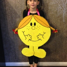 Little Miss Sunshine costume.
