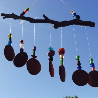 DIY wind chime
