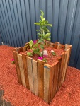 Upcycled pallet planters